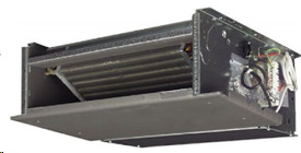 Фанкойлы Daikin Напольно-подпотолочный блок (без корпуса) FWS (инверторные)